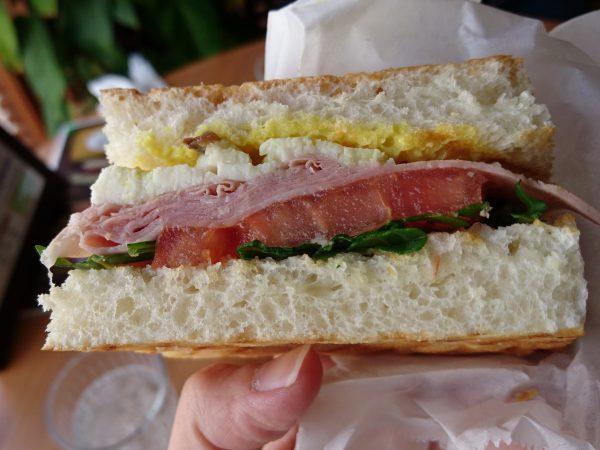 秀一楼 サンドイッチ