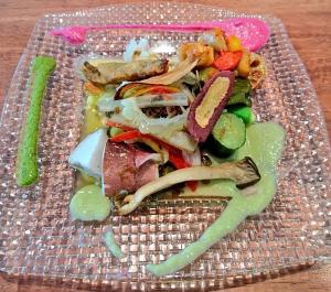 ババール パスタランチの前菜