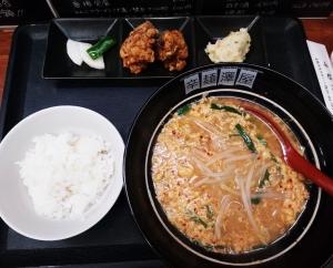 澤屋 辛麺定食