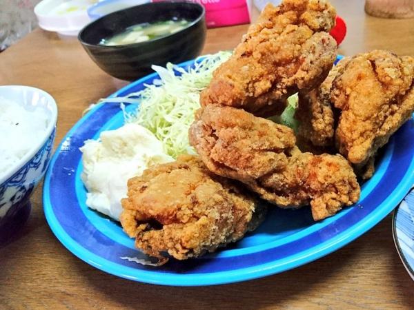 唐揚げ定食 [700円]