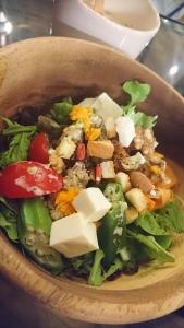 グリーンデコレート ランチのサラダ