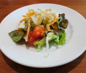 グレープナッツ ランチセットのサラダ