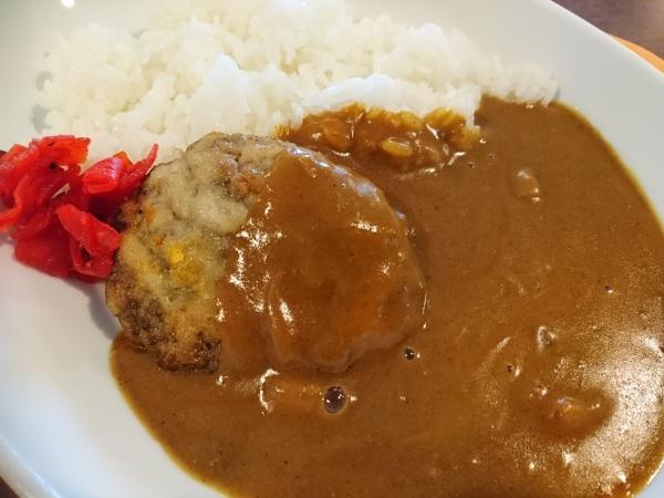 名工ハンバーグカレー(530円)