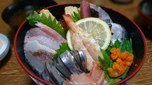 上海鮮光り丼(2,000円)