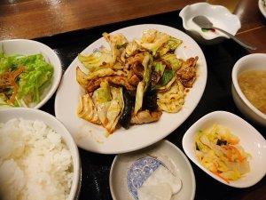 回鍋肉定食(780円)