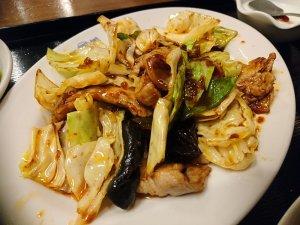 野菜たっぷりの回鍋肉