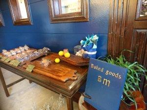 カフェに併設されたパン屋さん