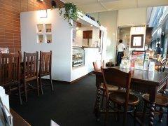 図書館1階に入っているカフェ&レストラン