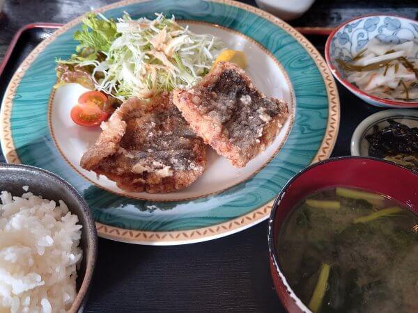 サワラの竜田揚げ定食(780円)