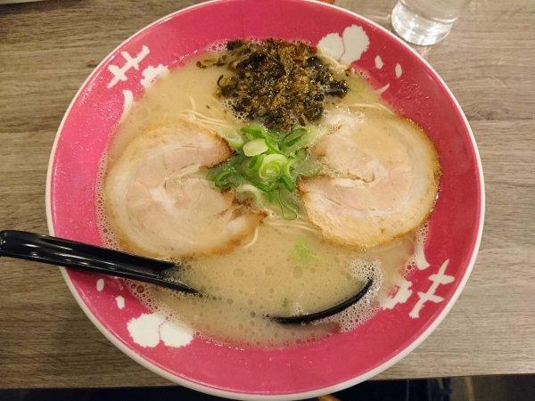 高菜ラーメン(690円)