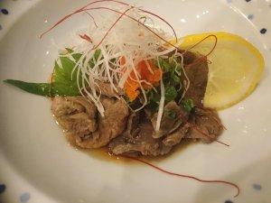 牛すじポン酢(680円)