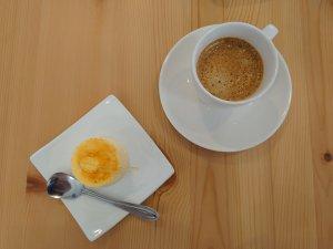 コーヒー&プリン