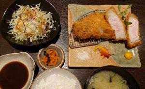 厚切り上ロースカツ(1480円)