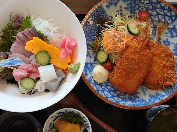 のも丼(1300円)