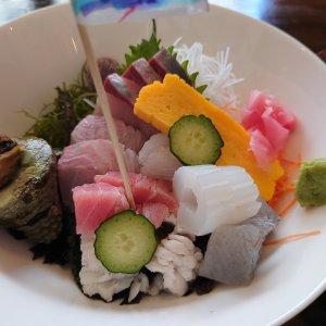 地魚がたっぷり使われた海鮮丼