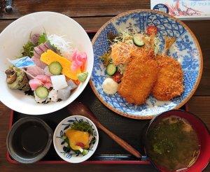 のも丼(1430円)